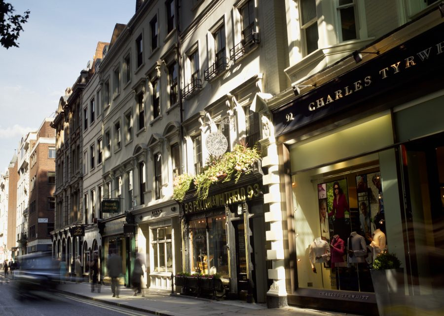 Jermyn Street Restaurants